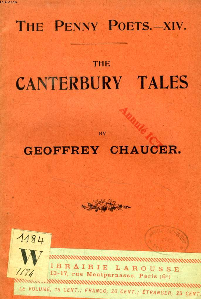 THE CANTERBURY TALES (THE PENNY POETS, XIV)