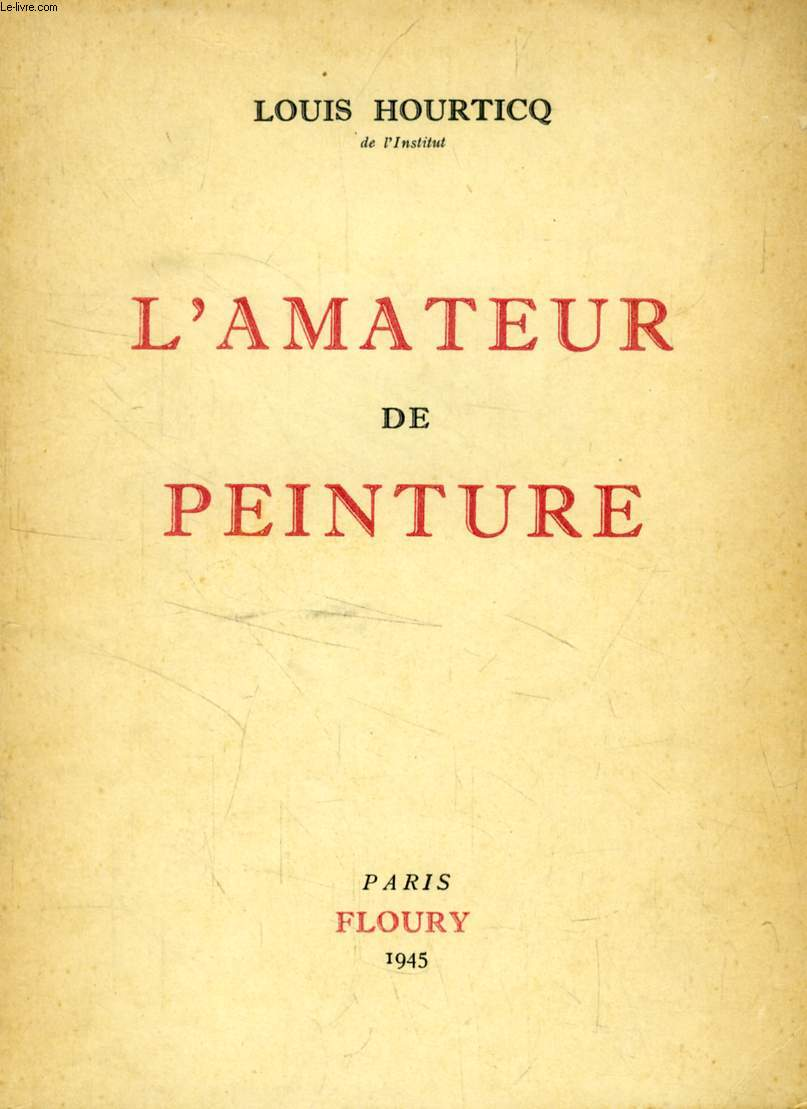 L'AMATEUR DE PEINTURE