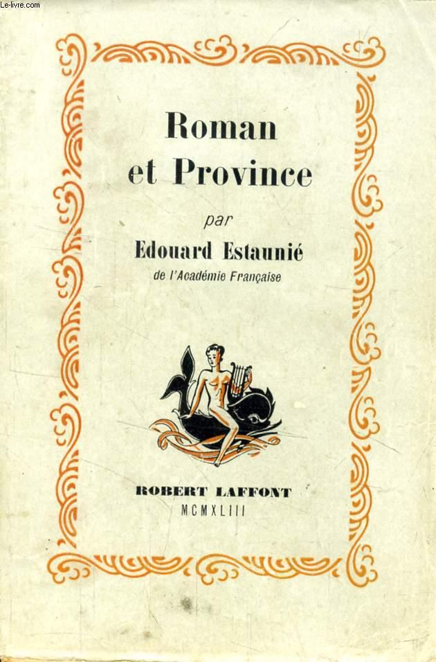 ROMAN ET PROVINCE