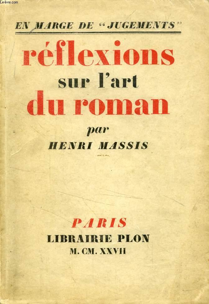 REFLEXIONS SUR L'ART DU ROMAN (EN MARGE DE 'JUGEMENTS')