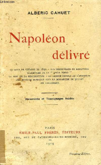 NAPOLEON DELIVRE