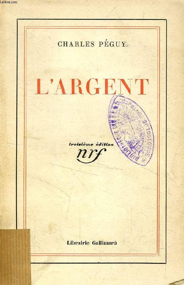 L'ARGENT, Suivi de L'ARGENT SUITE