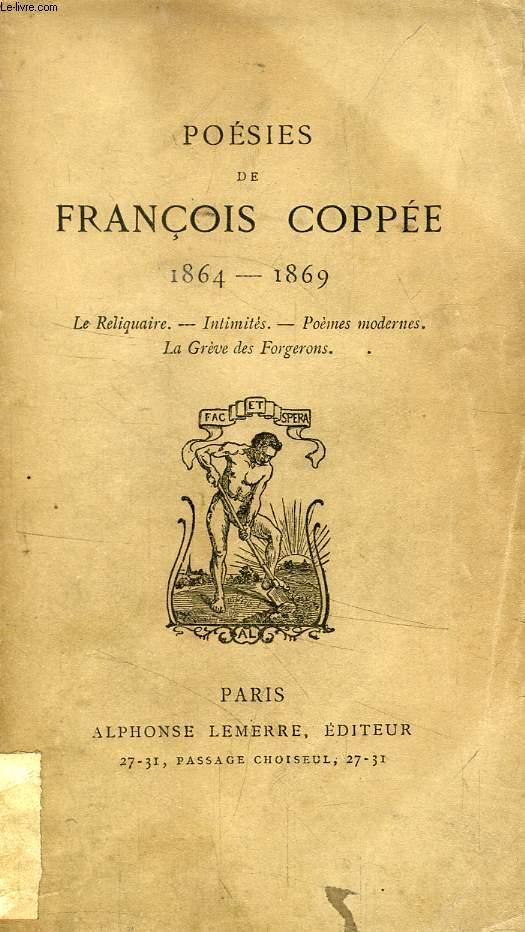 POESIES DE FRANCOIS COPPEE, 1864 - 1869