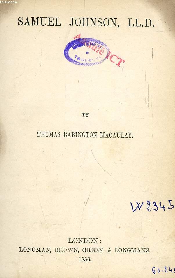 SAMUEL JOHNSON, LL.D.