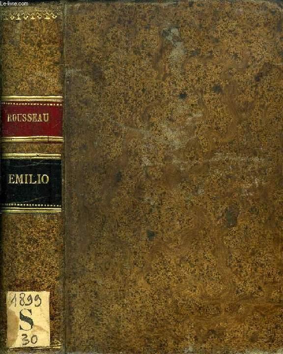 EMILIO, TOMOS I, II (1 VOL.)