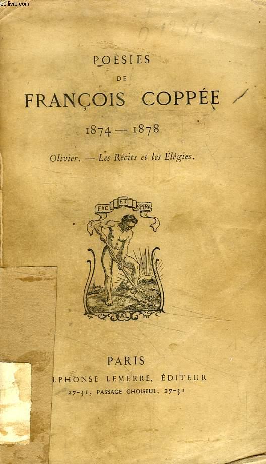 POESIES DE FRANCOIS COPPEE, 1874 - 1878