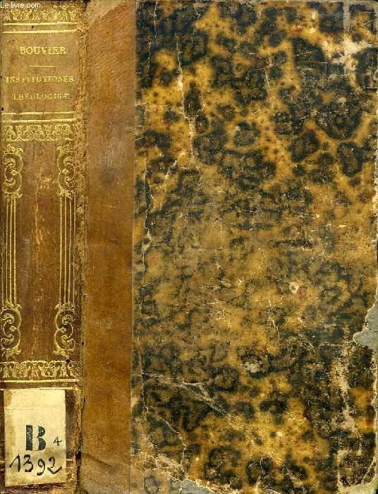 INSTITUTIONES THEOLOGICAE AD USUM SEMINARIORUM, TOMUS QUARTUS (De Ordine, De Matrimonio, De Actibus Humanis, De Conscientia, De Legibus)
