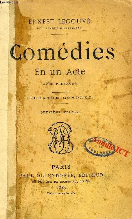 COMEDIES EN UN ACTE (THEATRE COMPLET)