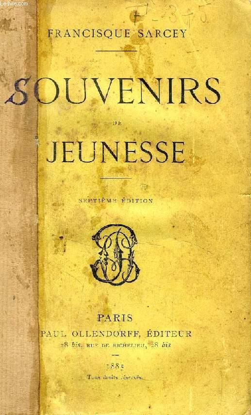 SOUVENIRS DE JEUNESSE