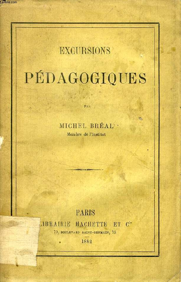 EXCURSIONS PEDAGOGIQUES