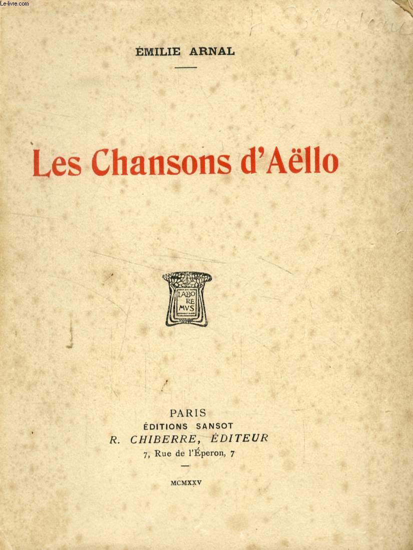 LES CHANSONS D'AËLLO