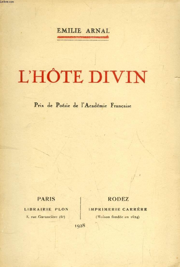 L'HOTE DIVIN