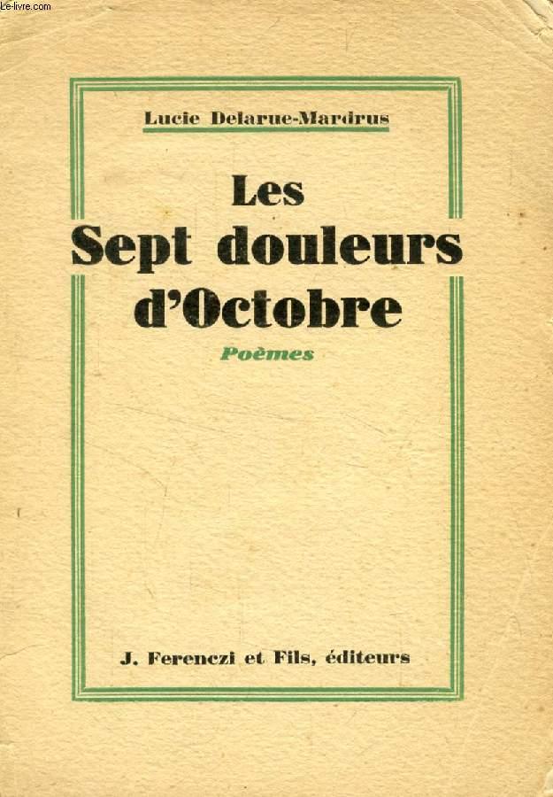 LES SEPT DOULEURS D'OCTOBRE