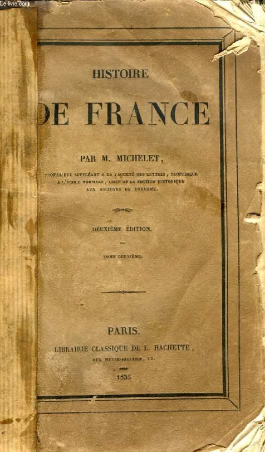 HISTOIRE DE FRANCE, TOME II