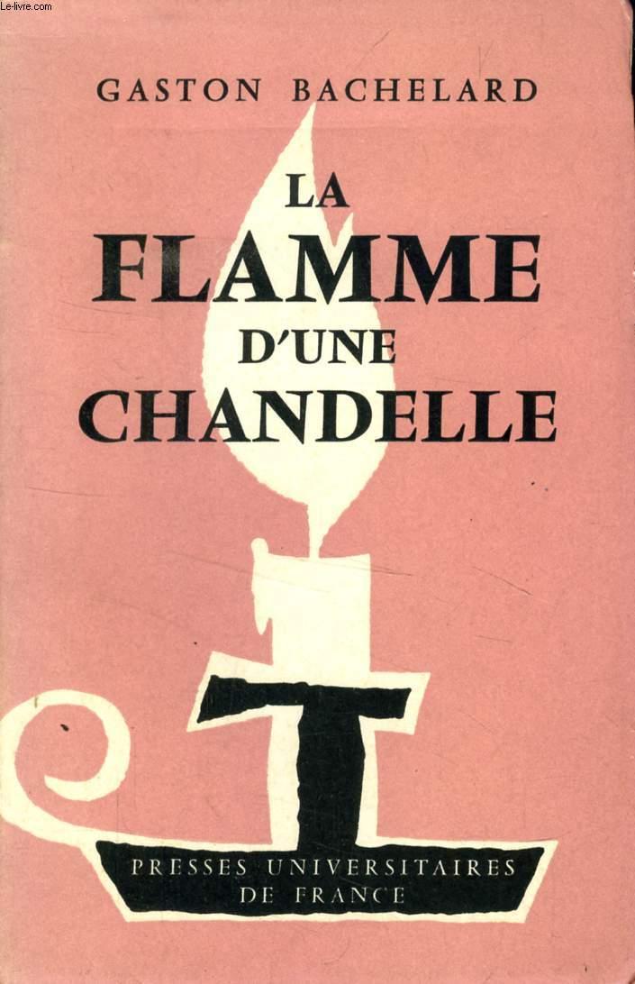 LA FLAMME D'UNE CHANDELLE