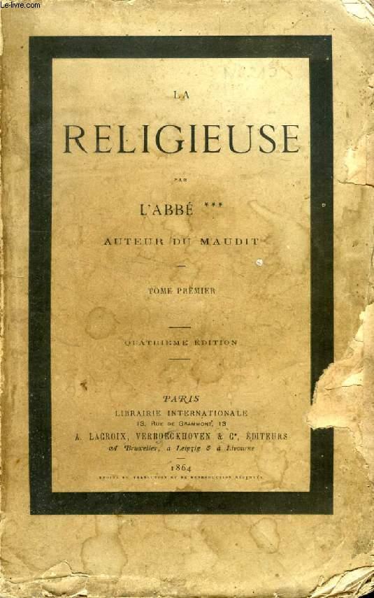 LA RELIGIEUSE, 2 TOMES