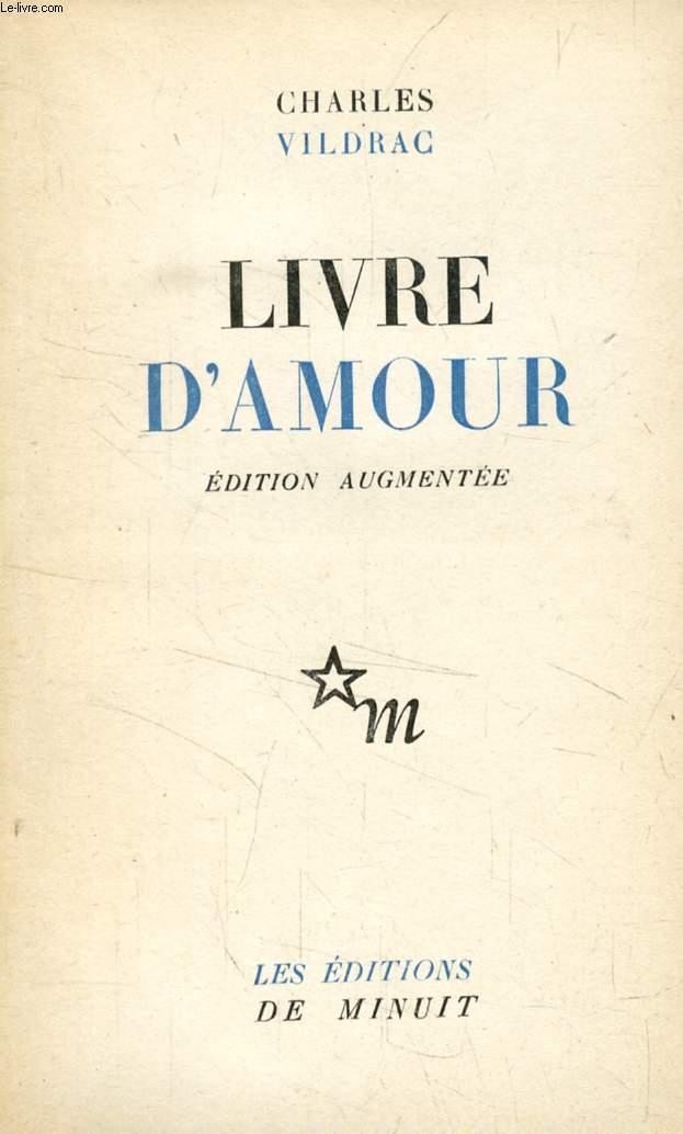 LIVRE D'AMOUR