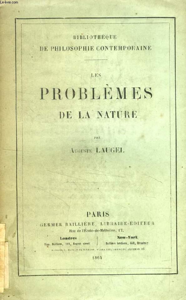 LES PROBLEMES DE LA NATURE