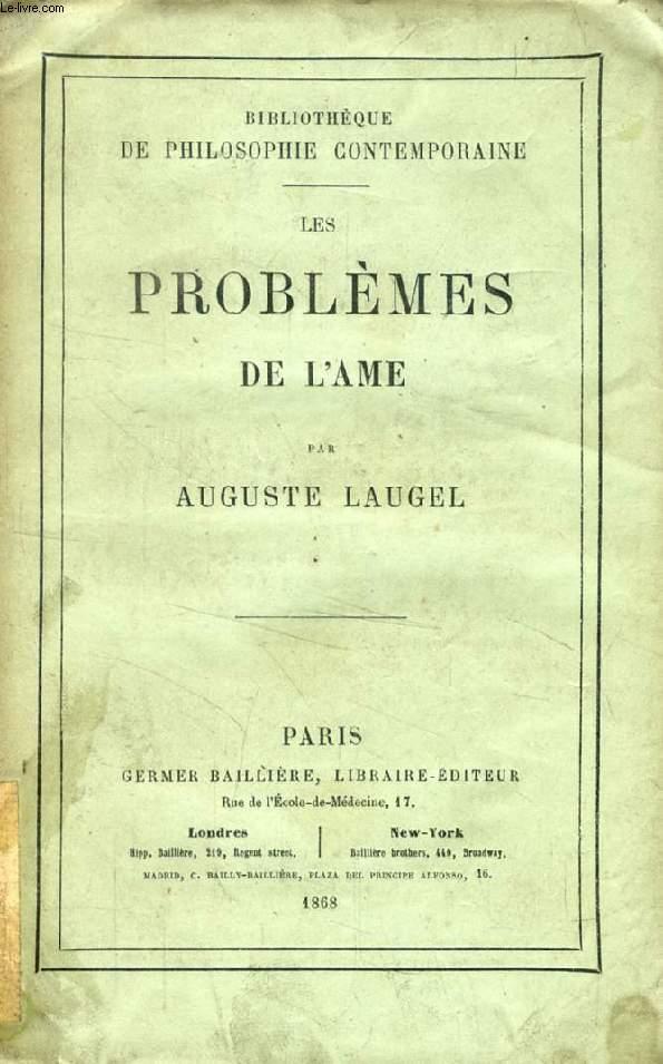 LES PROBLEMES DE L'AME