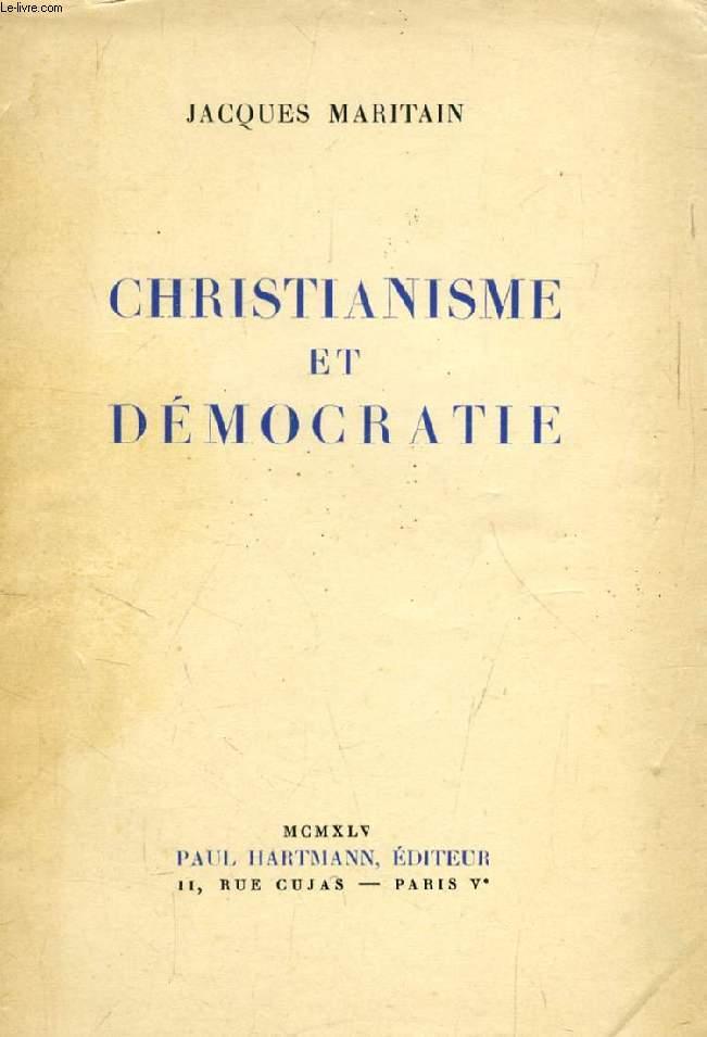 CHRISTIANISME ET DEMOCRATIE