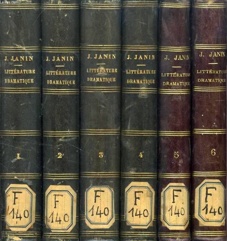 HISTOIRE DE LA LITTERATURE DRAMATIQUE, 6 TOMES (COMPLET)