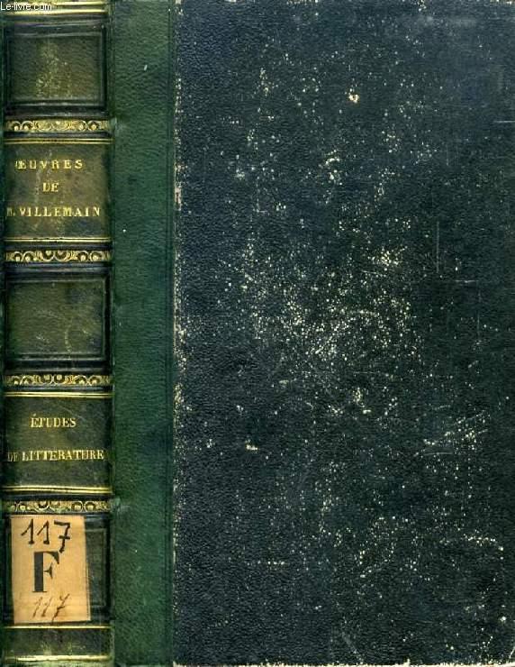 ETUDES LITTERATURE ANCIENNE & ETRANGERE