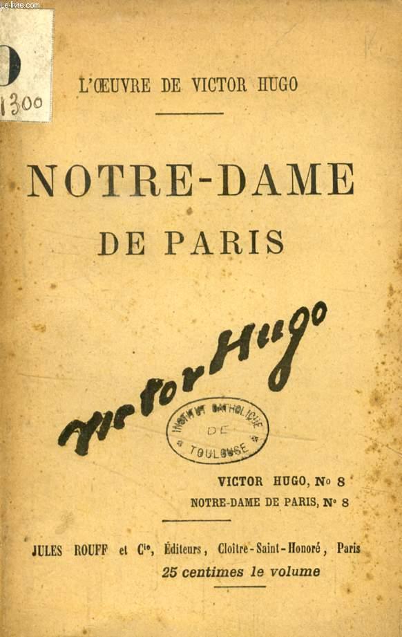 NOTRE-DAME DE PARIS, 8 NUMEROS