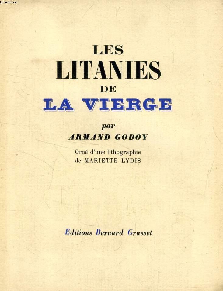 LES LITANIES DE LA VIERGE