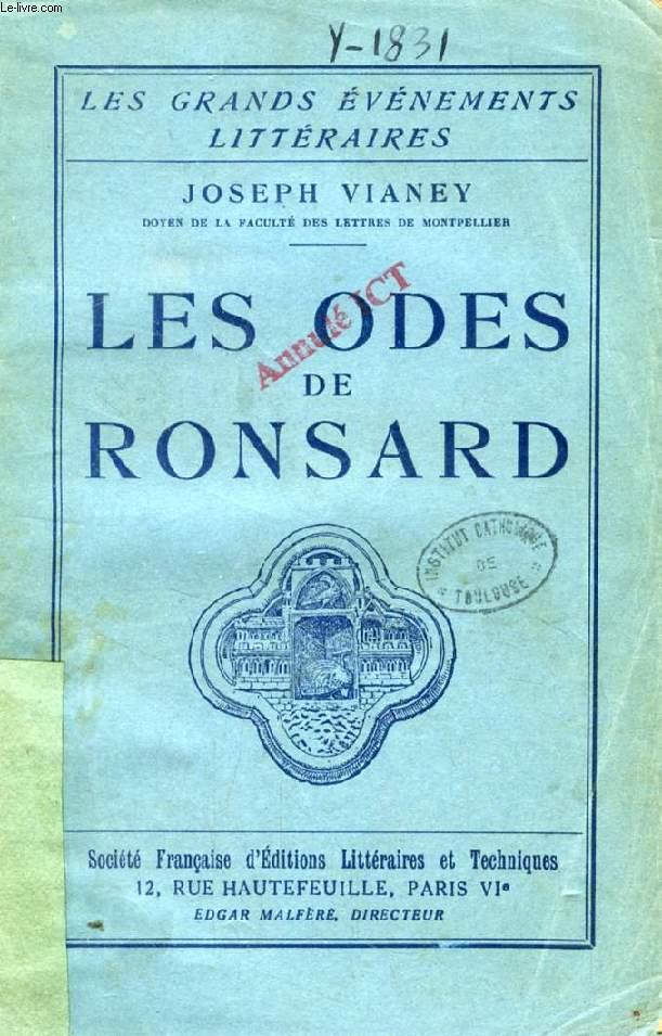 LES ODES DE RONSARD