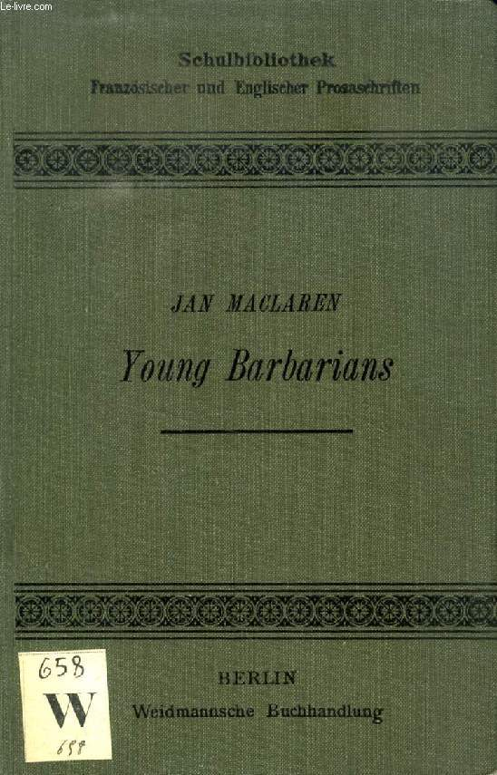 YOUNG BARBARIANS, 2 VOL.