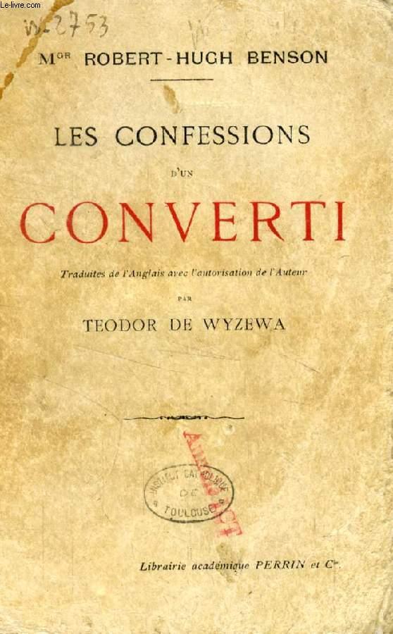 LES CONFESSIONS D'UN CONVERTI