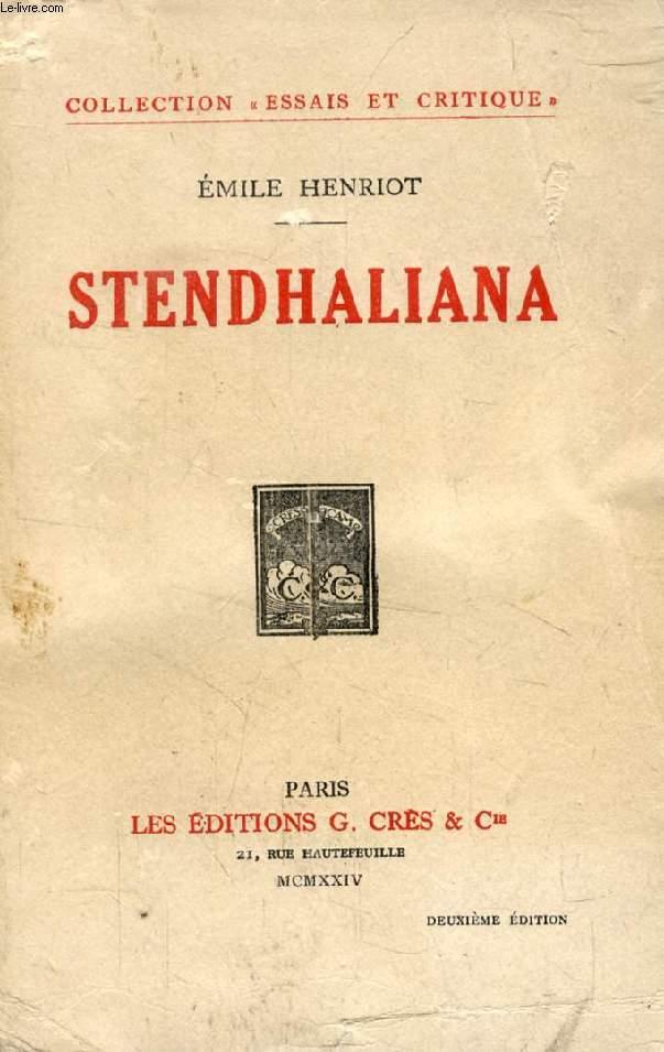 STENDHALIANA