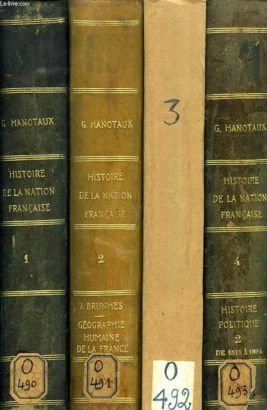 HISTOIRE DE LA NATION FRANCAISE, 15 TOMES (COMPLET)