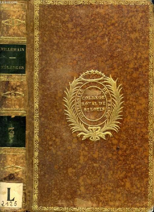 NOUVEAUX MELANGES HISTORIQUES ET LITTERAIRES