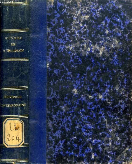 SOUVENIRS CONTEMPORAINS D'HISTOIRE ET DE LITTERATURE, 2e PARTIE (Les Cent Jours)