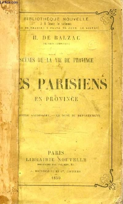 LES PARISIENS EN PROVINCE (SCENES DE LA VIE DE CAMPAGNE)