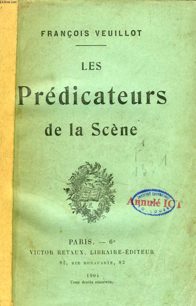 LES PREDICATEURS DE LA SCENE