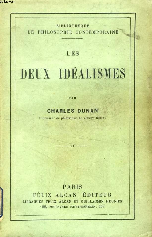 LES DEUX IDEALISMES