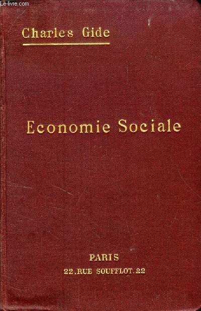 ECONOMIE SOCIALE