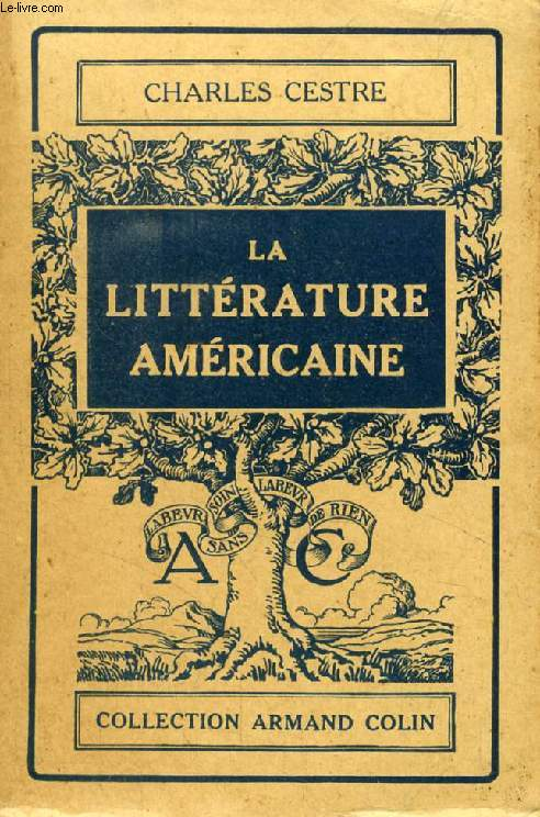 LA LITTERATURE AMERICAINE