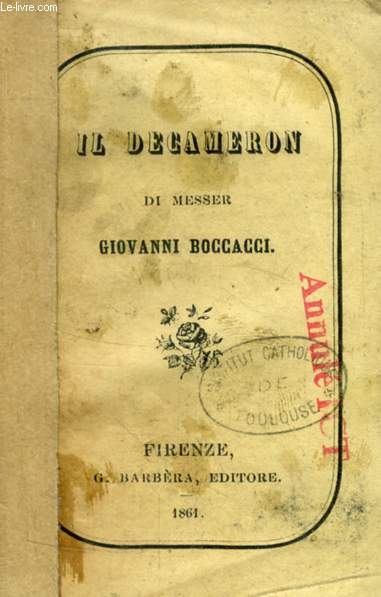 IL DECAMERON, VOL. III