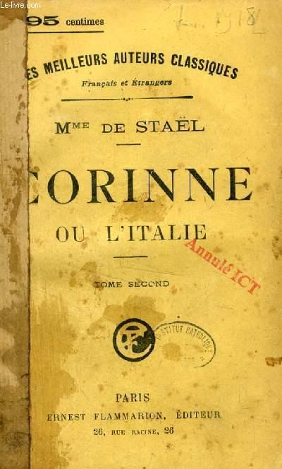 CORINNE, OU L'ITALIE, 2 TOMES