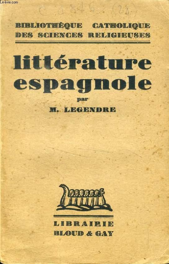LITTERATURE ESPAGNOLE