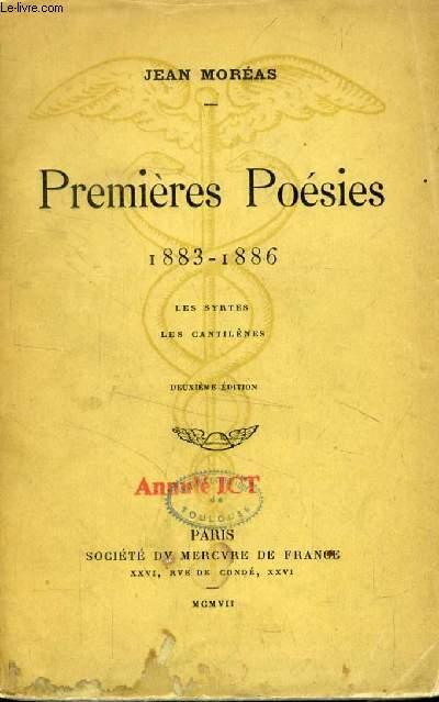 PREMIERES POESIES, 1883-1886