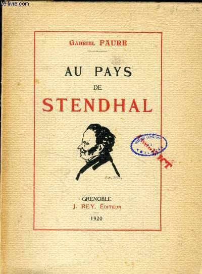 AU PAYS DE STENDHAL