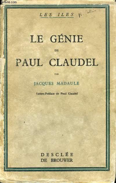 LE GENIE DE PAUL CLAUDEL