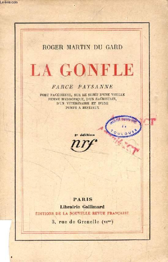 LA GONFLE, Farce Paysanne