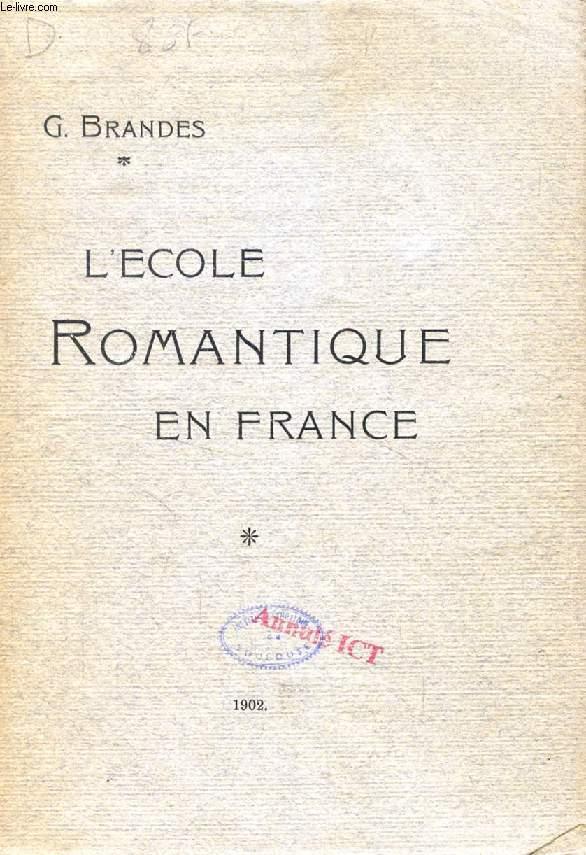 L'ECOLE ROMANTIQUE EN FRANCE