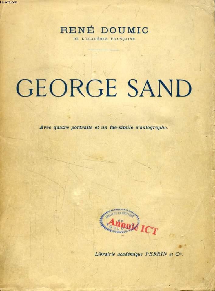 GEORGE SAND, DIX CONFERENCES SUR SA VIE ET SON OEUVRE