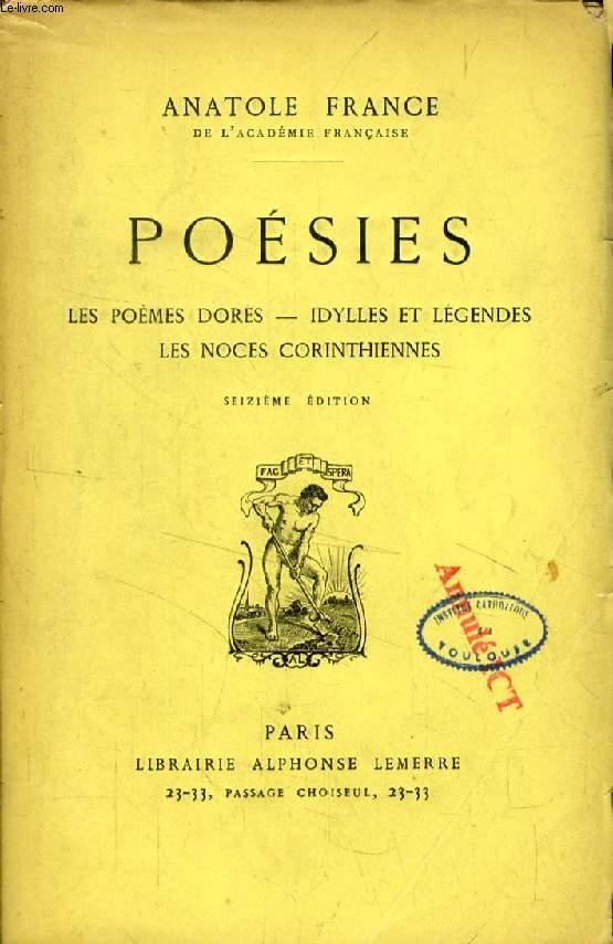 POESIES, Les Poèmes Dorés, Idylles et Légendes, Les Noces Corinthiennes